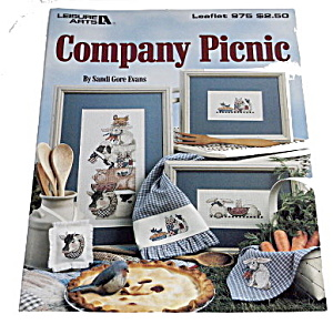 1990 Company Picnic Cross Stitch Leisure Arts 975 (Image1)