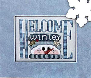 Hinseit 'Charmed Welcome Winter' Cross Stitch Chart (Image1)
