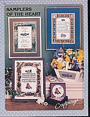'Samplers of the Heart' Cross Stitch Pattern (Image1)