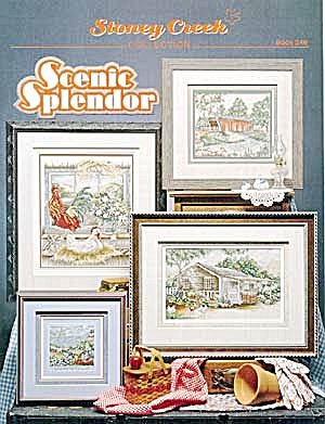 Scenic Splendor 'Gazebo Covered Bridges' Cross Stitch (Image1)