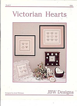VICTORIAN HEARTS, JBW Designs-  Cross Stitch (Image1)