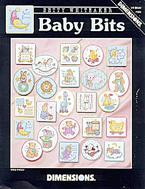 Dimensions 'Baby Bits' - Cross Stitch Patterns (Image1)