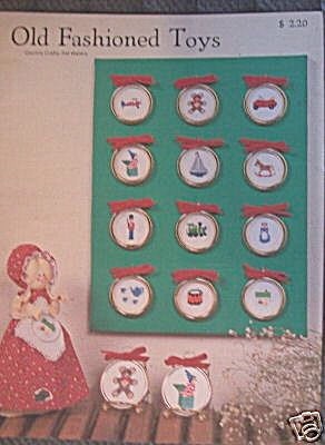 Old Fashioned Toys Counted Cross Stitch Patterns (Image1)