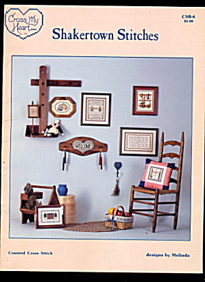 Shakertown Stitches Samplers Cross Stitch Patterns (Image1)