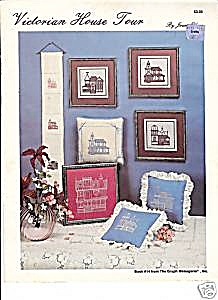 The Victorian House Tour Cross Stitch Patterns (Image1)