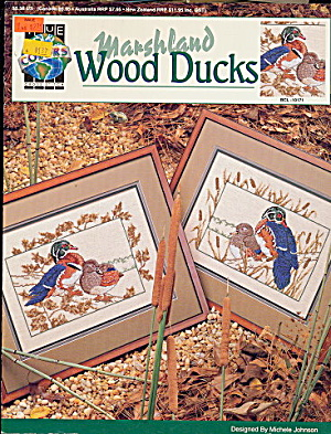 1992 'Marshland Wood Ducks' Cross Stitch Patterns (Image1)