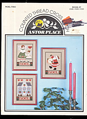 Astor Place Christmas Noel Cross Stitch Patterns (Image1)