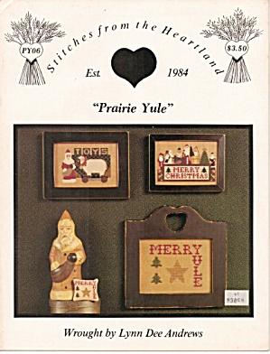 'Prairie Yule'  Lynn Dee Andrew Cross Stitch Leaflet (Image1)