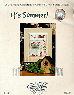 'It's Summer!' Cross Stitch Sampler Sampler (Image1)