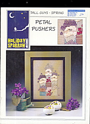 Tall Guys - Petal Pushers Cross Stitch Spring Pattern (Image1)
