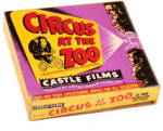 Click here to enlarge image and see more about item 0008MM2: 'Circus at the Zoo' 16mm Castle Film, Silent