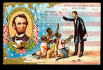 Abe Lincoln Patriotic E Nash 1910 Postcard