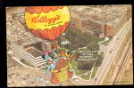 Click here to enlarge image and see more about item 000ADV05: 1964 Kellogg's Cereal Advertising Postcard
