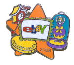 Click here to enlarge image and see more about item 000ADV371: 2003 eBay Collectibles Enameled Pin