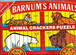 Click here to enlarge image and see more about item 000ADV43: Barnum's Animal Crackers Board Puzzle