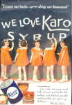 Click here to enlarge image and see more about item 000ADVAD7: 1937 Karo Syrup Dionne Quintuplets Advertisement