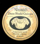 Click here to enlarge image and see more about item 000ADVM16: 1920s Advertising Kleinert's Dress Shields Mirror