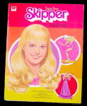 Click here to enlarge image and see more about item 000BAR833: 1980 Whitman Barbie Super Teen SKIPPER Paper Dolls