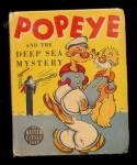 Click here to enlarge image and see more about item 000BLB10: 1939 'Popeye and the Deep Sea Mystery' Big Little Book