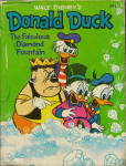 Click here to enlarge image and see more about item 000BLB13: Walt Disney Donald Duck & Diamond Fountain Little Book