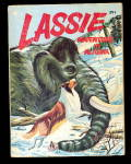 Click here to enlarge image and see more about item 000BLB24: 'Lassie Adventure in Alaska' 1967 Big Little Book