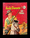 1958 Big Little Book Walt Disney ANDY BURNETT ON TRIAL