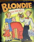 Click here to enlarge image and see more about item 000BLB3: 1949 'Blondie - Fun for All' Big Little Book