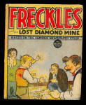1937 Freckles & Lost Diamond Mine Big Little Book