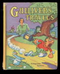 Click here to enlarge image and see more about item 000BLB4: 1939 Saalfield 'Gulliver's Travels' Big Little Book