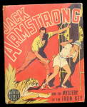 Click here to enlarge image and see more about item 000BLB709: 1937 Jack Armstrong Iron Key Big Little Book