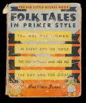 Click here to enlarge image and see more about item 000BLB7: 1935 'Folk Tales' Whitman Big Little Book