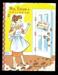 Click here to enlarge image and see more about item 000BONNIE26: 1957 Mrs. Brown's Children Bonnie Book