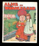 1923 Alice in Wonderland Linenette Sam'l Gabriel Book