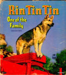 "Click here to enlarge image and see more about item 000BOO7: 1953 ""Rin Tin Tin One of the Family"" Book"