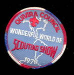Click here to enlarge image and see more about item 000BSPATCH1: 1978 Scouting Show Quivira Council Boy Scouts Patch