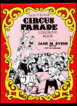 Click here to enlarge image and see more about item 000CIRCUS39: 1981 Chicago Jane Byrne Circus Coloring Book