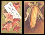 Click here to enlarge image and see more about item 000CLAP172: 2 1907 Ellen Clapsaddle Thanksgiving Postcards