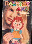 1967 Gruelle Raggedy Ann Dress Up Colorforms
