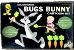 "1958 ""Bugs Bunny Cartoon Kit"" Colorforms"