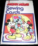 1970 Mickey Mouse Sewing Cards Colorforms