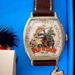 Click to view larger image of Abbelare Red Ryder 50th Anniversary Watch Mint in Box (Image2)