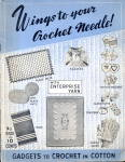 Click here to enlarge image and see more about item 000CRO3: 1930s Enterprise Yarn Crochet & Knitting Manual Book