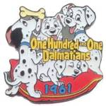 Click here to enlarge image and see more about item 000DISPIN1: 101 Dalmations - Countdown to Millennium 2000