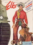 "Click here to enlarge image and see more about item 000ELK5: ""The Elks"" Magazine November 1942 War Edition"