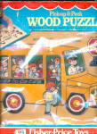 Click here to enlarge image and see more about item 000FISP21: 1978 Fisher Price Wooden Puzzle Bus Mint in Box