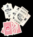 Click to view larger image of 1920s Touring Automobile Card Game - Parker Bros (Image2)