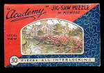 Circa 1910 J Salmon English Plywood Puzzle in Envelope