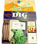 "Click to view larger image of ""Dig"" 1940s Board Game - Parker Bros (Image2)"