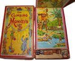 Click here to enlarge image and see more about item 000GAM58: Early 1900s Spear's 'The Climbing Monkeys' Game