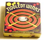 1930s Transogram 'Tiddely Winks' Game